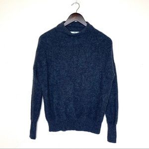 Magaschoni Charcoal Gray Cashmere Sweater